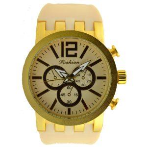 Γυναικείο ρολόι εκρού 014