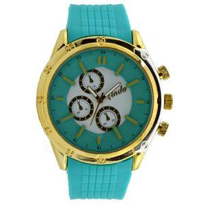 Γυναικείο ρολόι με λουρί σιλικόνης βεραμάν 036