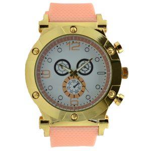 Γυναικείο ρολόι με λουρί σιλικόνης σομών 037