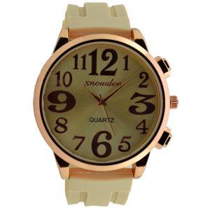 Γυναικείο ρολόι μπεζ 025