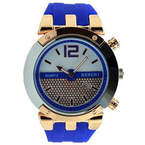 Γυναικείο ρολόι μπλε με στρας 020