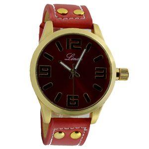 Γυναικείο ρολόι Linda κόκκινο 07