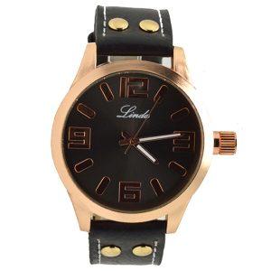 Γυναικείο ρολόι Linda μαύρο 09