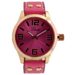 Γυναικείο ρολόι linda ροζ 01