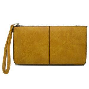 Πορτοφόλι γυναικείο ταμπά με φερμουάρ και λουράκι