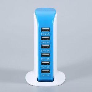 Σταθμός φόρτισης USB με 6 θύρες